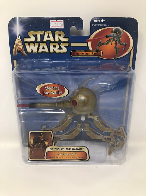 Star Wars Attack of the Clones Spider Droid 2003 Hasbro