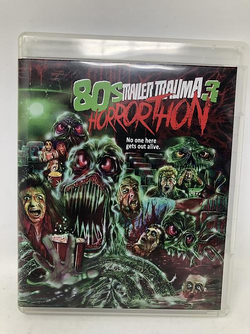 Trailer Trauma 3 80s Horrorthon 2 Disc Blu Ray Garagehouse