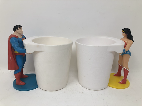 DC Superman & Wonder Women Burger King 1988