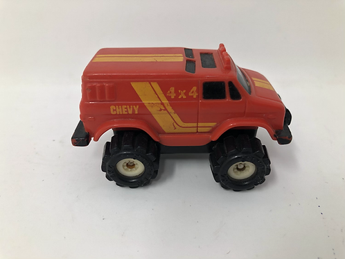 Stomper Red Chevy 4x4 1986