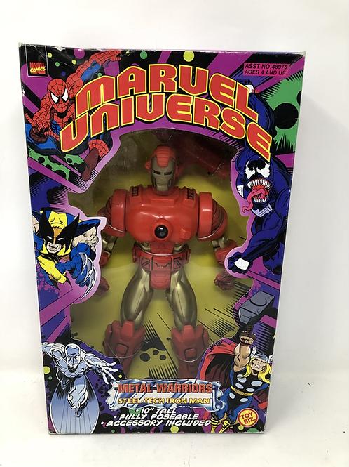 "Marvel Universe 10"" Iron Man Metal Warriors Toybiz"