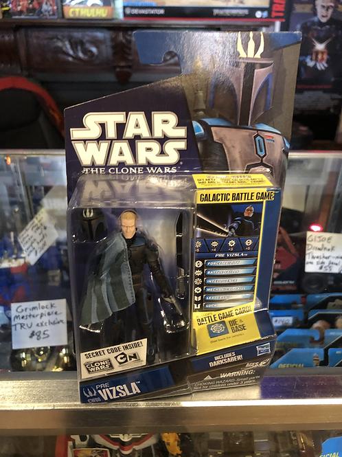 Star Wars  Pre Vizla Clone Wars with Darksaber Hasbro