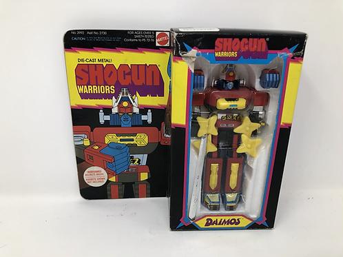 """Daimos 6"""" Shogun Warrior Diecast Mattel"""