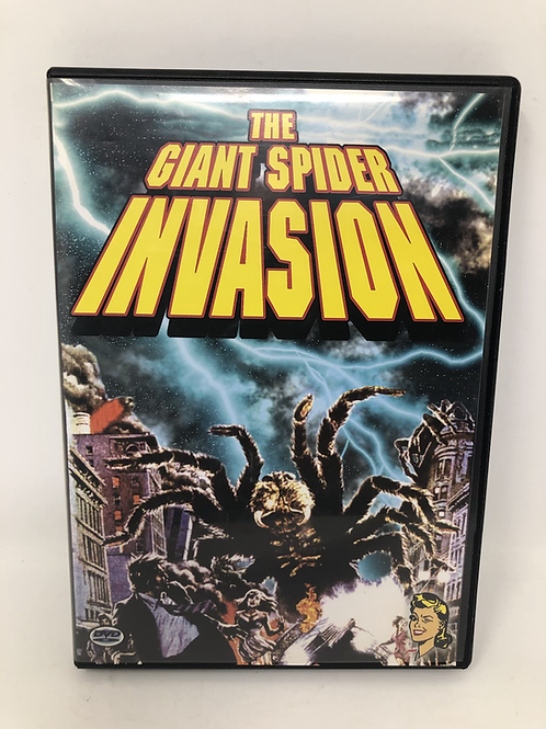 Giant Spider Invasion DVD with Comic