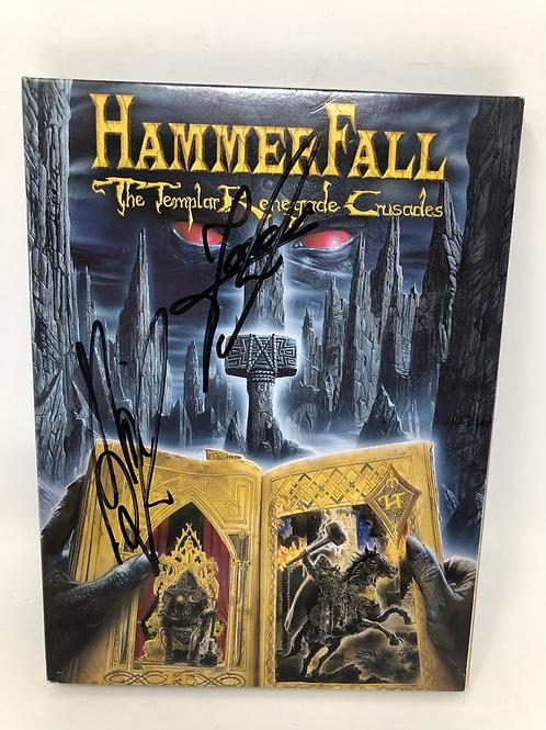 Hammerfall Templar Renegde Crusades Signed DVD Set