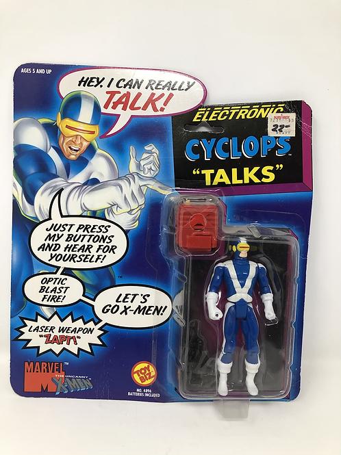 X-Men Cyclops Talks Toybiz