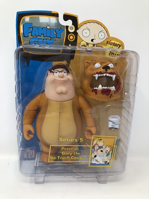 Family Guy Mezco Peter as Gary the No Trash Cougar