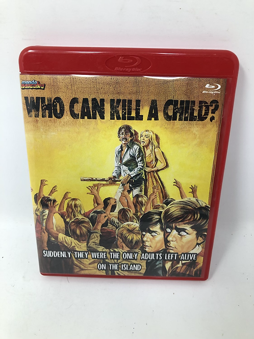 Who Can Kill a Child Blu Ray Limited 79/1000