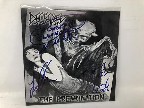 """Deceased Signed The Premonition Signed 7"""" Vinyl"""