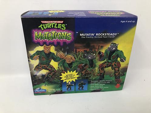 Tmnt Teenage Mutant Ninja Turtles Mutatin Rocksteady 1992 Playmates