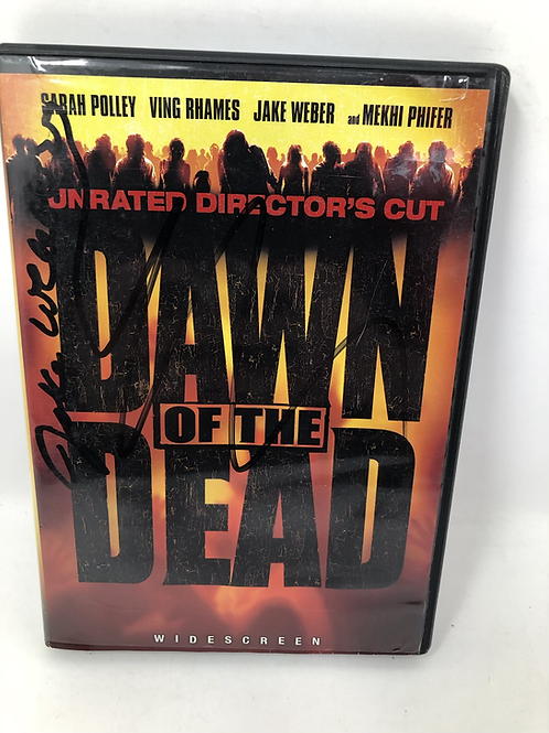 Dawn of the Dead DVD Signed by Jake Weber