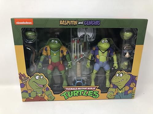 Tmnt Teenage Mutant Ninja Turtles Rasputin and Genghis Frog Neca