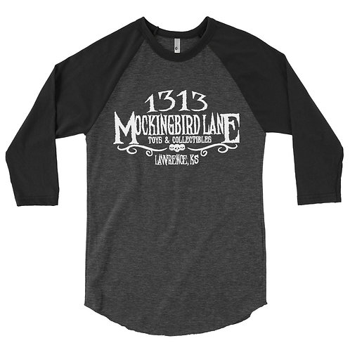1313 Mockingbird Lane 3/4 sleeve Raglan Shirt (in-store pick-up NOT AVAILABLE)