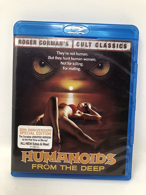 Humanoids From the Deep 30th Anniversary Blu Ray