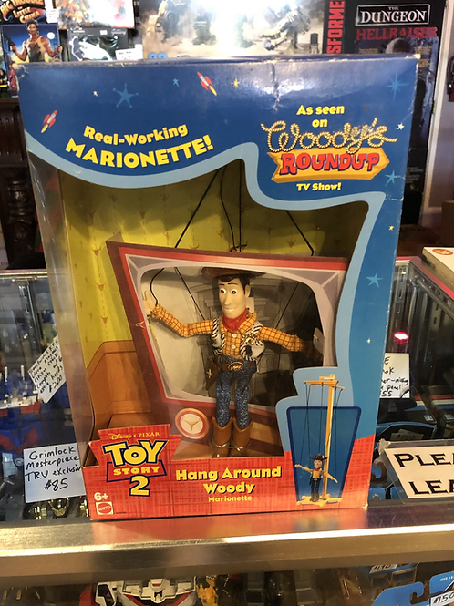 Toy Story 2 Hang Around Woody Marionette Disney