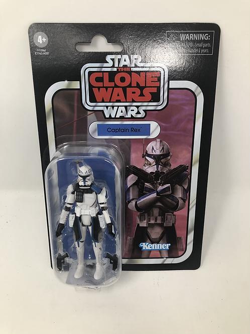 Star Wars Clone Wars Captain Rex Vintage Collection Hasbro