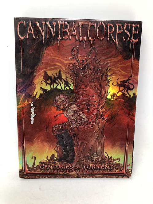 Cannibal Corpse 3 DVD Centuries of Torment Set