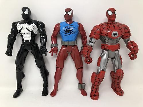 "Marvel Spiderman 10"" Toybiz lot"