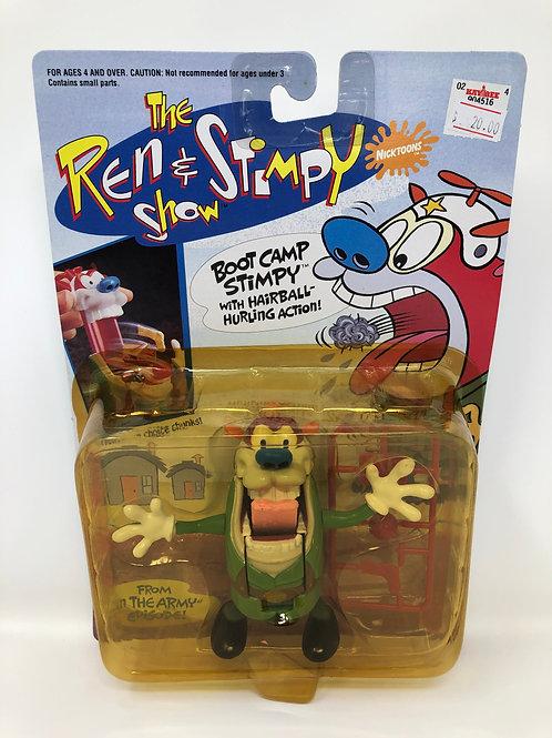 Ren & Stimpy Boot Camp Stimpy 1993 Mattel