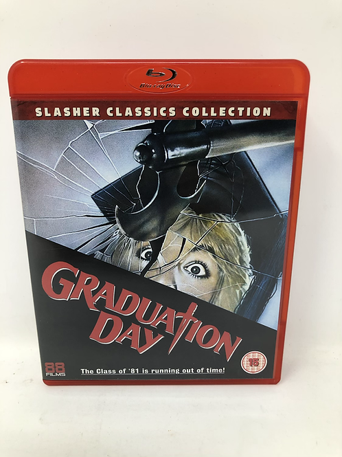 Graduation Day Blu Ray Out of Print
