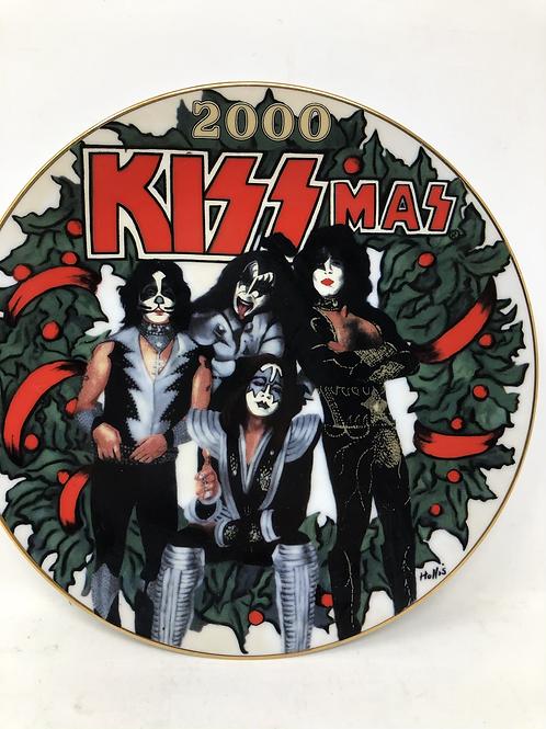 KISS mas Rare Numbered Plate