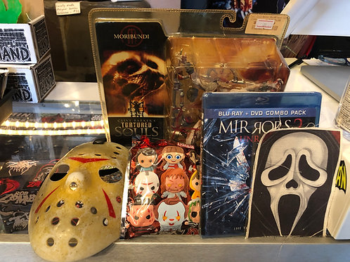HORROR Mystery Box - Get a surprise box of Scary goodies!