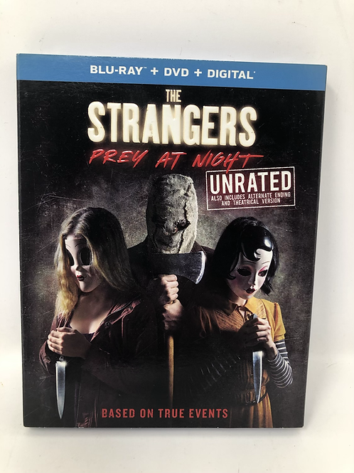 Strangers Prey at Night Slipcover Unrated Blu Ray New