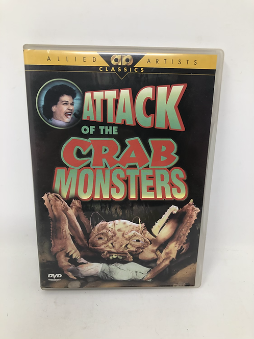 Attack of the Crab Monsters DVD
