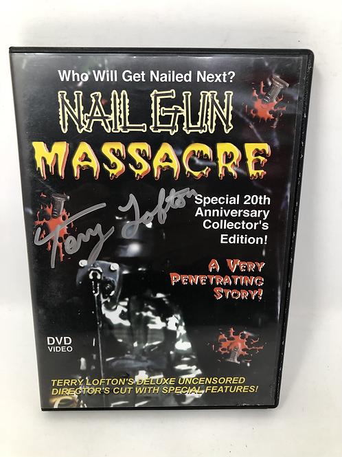 Nail Gun Massacre DVD Signed Limited 15/500