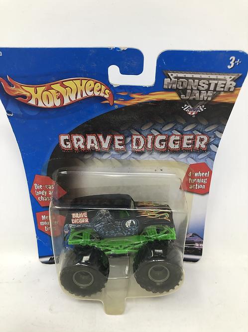 Grave Digger Hot Wheels Monster Jam Die Cast