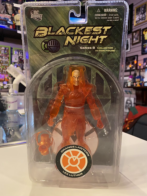Blackest Night Orange Lantern Lex Luthor DC