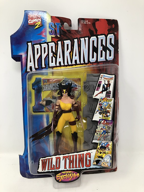 Marvel 1st Appearances Wild Thing Previews Exclusive Toybiz