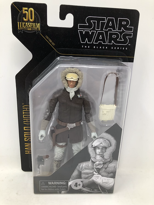 Star Wars Black Series Archive Han Solo Hoth Hasbro