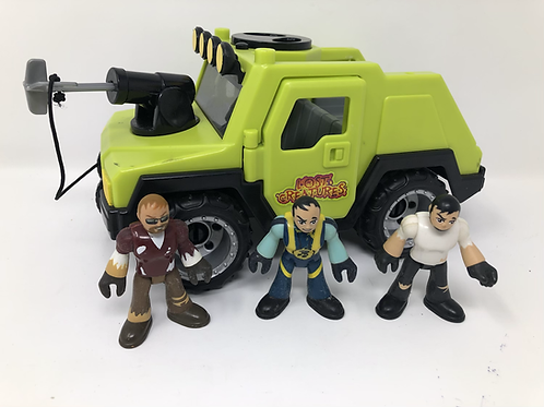 Imagine TT Lost Creatures Jeep and 3 Figures