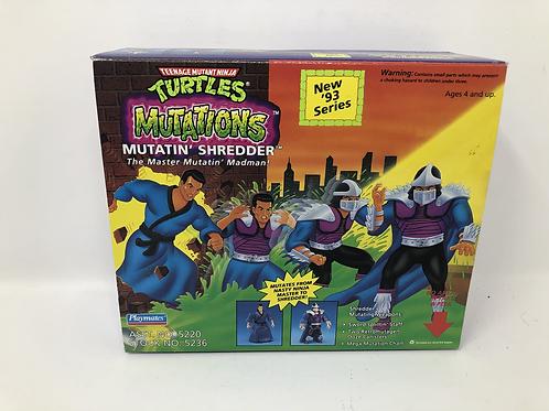 Tmnt Teenage Mutant Ninja Turtles Mutatin Shredder 1989 Playmates