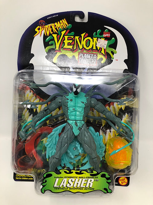 Spider-man Venom Lasher Planet of the Symbiotes 1996 Toybiz