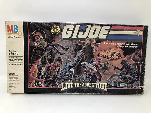 GIJOE Milton Bradley Live the Adventure Game