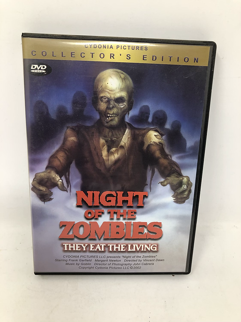 Night of the Zombies DVD They Eat the Living