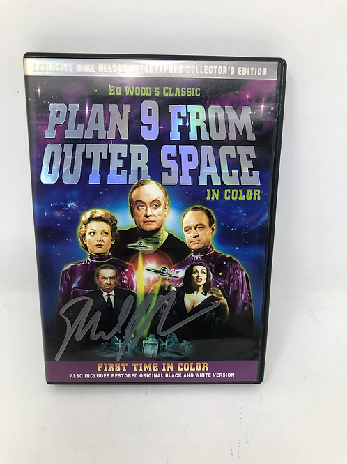Ed Wood Plan 9 From Outer Space DVD Mike Nelson Signed