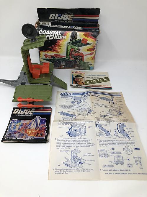 GIJOE Coastal Defender with box and instructions
