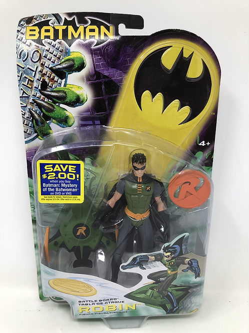 DC Robin Battle Board Mattel Green Variant