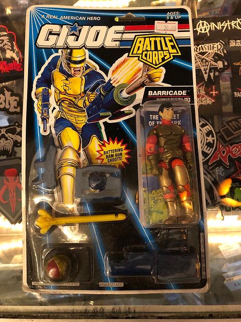 GIJOE Barricade Battle Corps 1992 Hasbro