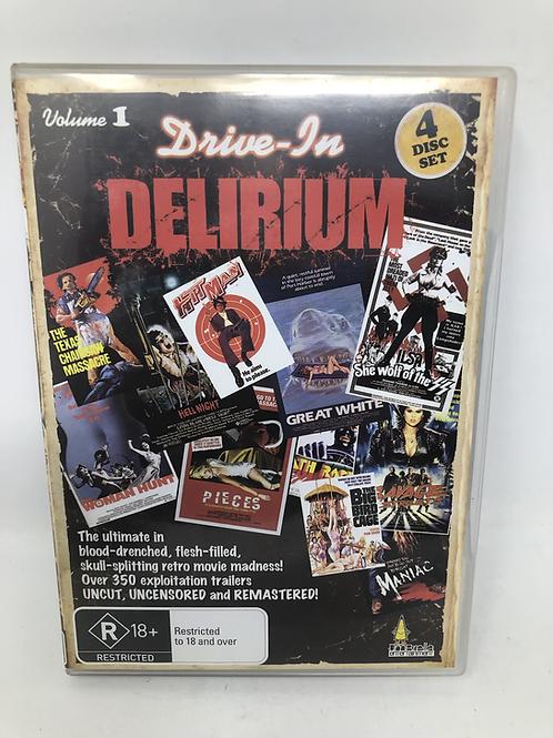 Drive-In Delirium 4 DVD Set Volume 1