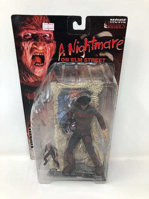Nightmare on Elm Street Freddy Krueger Movie Maniacs 1998 McFarlane