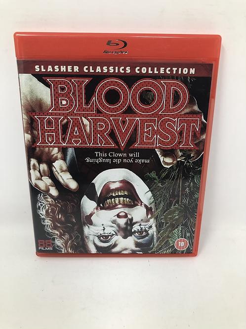 Blood Harvest Tiny Tim Horror Blu Ray Rare