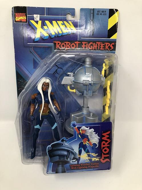 X-Men Storm Robot Fighter Toy Biz