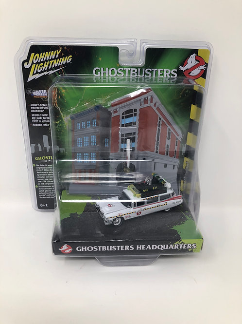 Ghostbusters Headquarters Ecto-1 Johnny Lightning