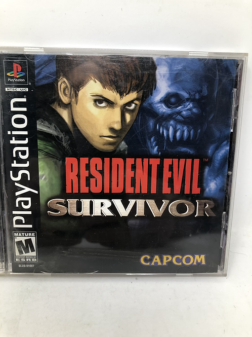 PlayStation Resident Evil Survivor Capcom