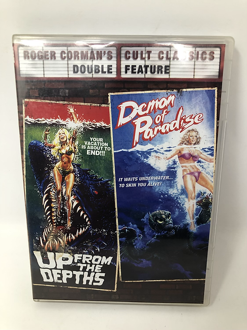 Up From the Depths & Demon of Paradise DVD