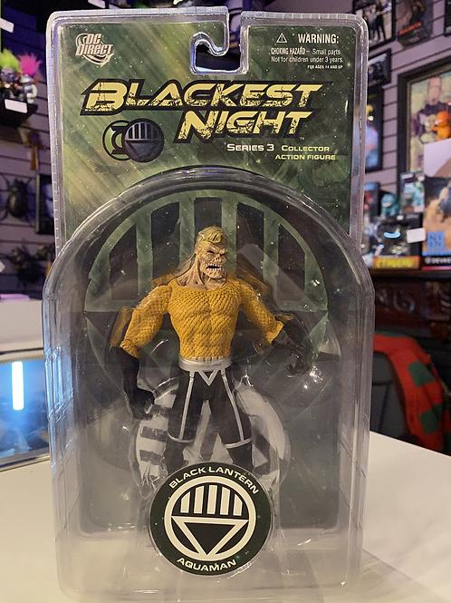 Blackest Night Black Lantern Aquaman DC
